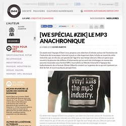 [WE spécial #Zik] Le MP3 anachronique