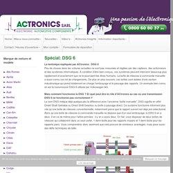 Spécial: DSG 6 - ACtronics Sarl