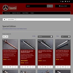 Special Edition by Valiant Armoury Custom Medieval Swords