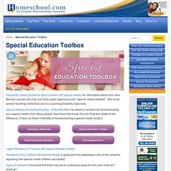 Special Education Toolbox