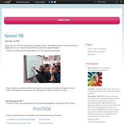 Spécial TBI - M@TERNET : le portail des enseignant(e)s en maternelle