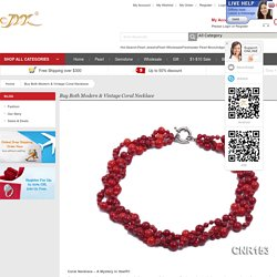 Special Fascination best for the Coral Necklace - YIDE Jewelry