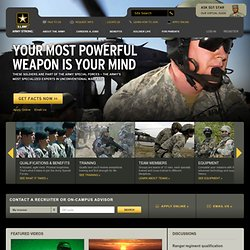 Special Forces | GoArmy.com