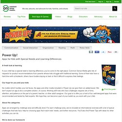 Power Up: Apps for Kids with Special Needs and Learning Differences