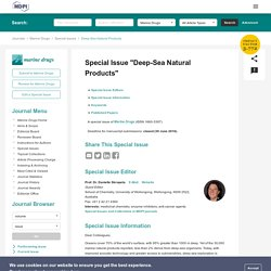 Special Issue : Deep-Sea Natural Products