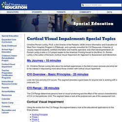 Office of Special Projects - Blind and Low-Vision Services