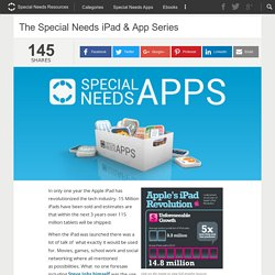The Special Needs iPad & App Series