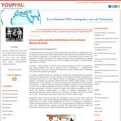 Les envoyées spéciales de Be-linked au Forum Social Mondial de Dakar