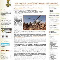 """Forces spéciales : Elles sont """"au taquet"""" selon le général de Villiers du CEMA"""