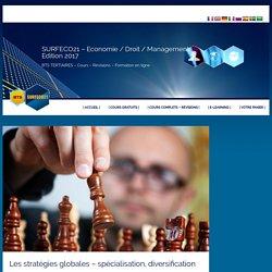 Les stratégies globales – spécialisation, diversification
