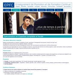 Spécialisation en Expertise comptable et fiscale