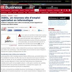 Jobtic, un nouveau site d'emploi spécialisé en informatique
