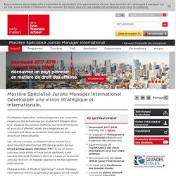 Mastère Spécialisé Juriste Manager International , juriste d'affaires - Mastere specialise