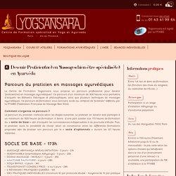 Devenir Praticien(ne) en Massages bien-être spécialisé(e) en Ayurvéda
