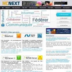 SSII spécialisée SharePoint, DotNET, décisionnel Microsoft, CRM, Biztalk