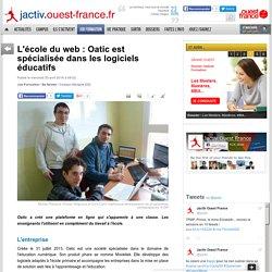 L'école du web : Oatic est spécialisée dans les logiciels éducatifs
