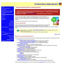 The School Library Media Specialist: Program Administration