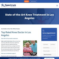 Find Knee Specialist Doctor in Los Angeles