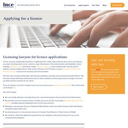 Apply for a Licences with Top Licencing Lawyers
