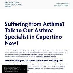 Allergies Treatment Cupertino, CA — Kelly Wellness & Chiropractic