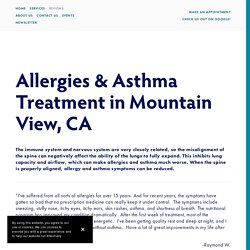 Asthma Specialist Mountain View & Allergies Treatment Mountain View, CA — Kelly Wellness & Chiropractic