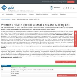 Women's Health Specialist Email List