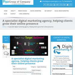 A specialist digital marketing agency, helping clients grow business