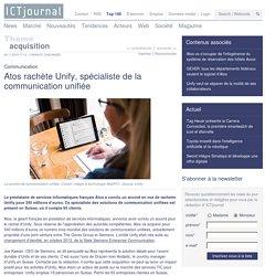 Atos rachète Unify, spécialiste de la communication unifiée