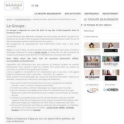 Groupe de textile, spécialiste de la distribution mode - Accueil