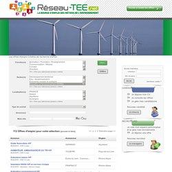reseau-tee.net - Spécialiste de l'emploi environnemental
