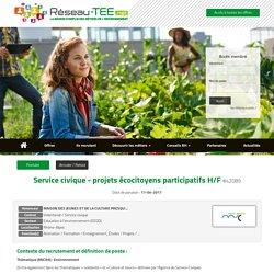 Réseau-TEE.net - Spécialiste de l'emploi environnemental
