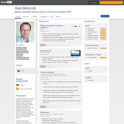 Alain Berkovits - CV - Médecin spécialiste greffe de cheveux et Praticien Hospitalier APHP