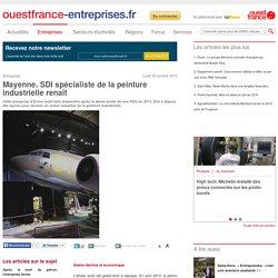 Mayenne. SDI spécialiste de la peinture industrielle renaît