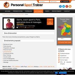 Coach sportif à Paris, spécialiste boxe et massages à domicile