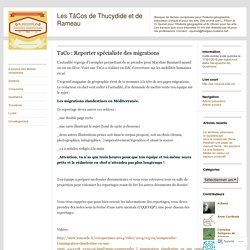 TaCo : Reporter spécialiste des migrations