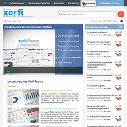 Xerfi France : Le specialiste des etudes sectorielles en France