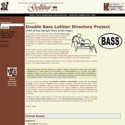 Gollihur Music - Upright Bass Specialists: Instruments, Pickups, Preamps, Amplifiers, and Accessories