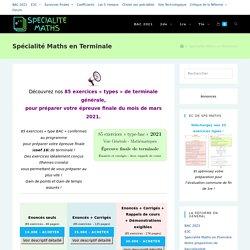 Spécialité Maths en Terminale – Spécialité-Maths