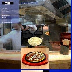 Spécialité Okonomiyaki