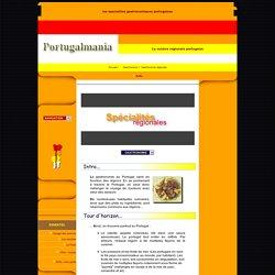 les specialites gastronomiques regionales portugaises