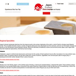 Regional Specialities - Japan National Tourism Organization