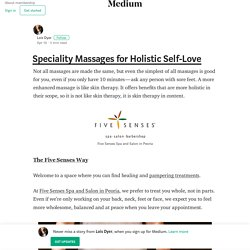 Get Best Body Massage in Peoria at FiveSenses Spa and Salon