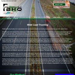 Wide load trucking companies