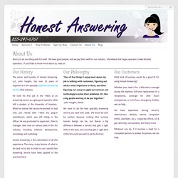 24/7 Business Answering Service is offered by Honest Answering