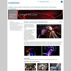 Specialty Fiber - Corning® Fibrance™ Light-Diffusing Fiber