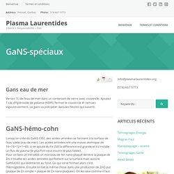 GaNS-spéciaux – Plasma Laurentides