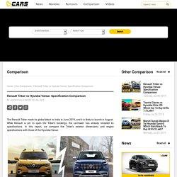 Renault Triber vs Hyundai Venue: Specification Comparison