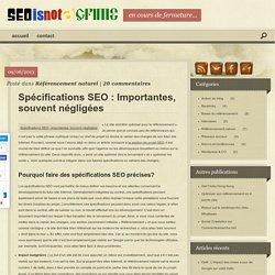 Spécifications SEO : Cadrer un projet de référencement dès le départ !