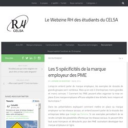 Les 5 spécificités de la marque employeur des PME