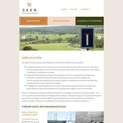 Spécificités - Ulg : Unité Gestion (SEED)